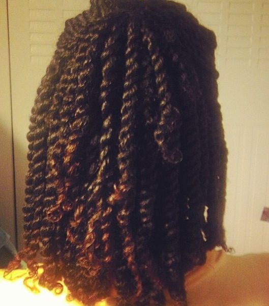 NATURAL HAIR TWO STRAND TWISTS | Hair Styles/Hair Colors | Pinterest