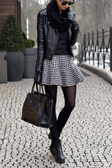 54 ideas skirt leather jacket outfit for 2019 #leatherjacketoutfit