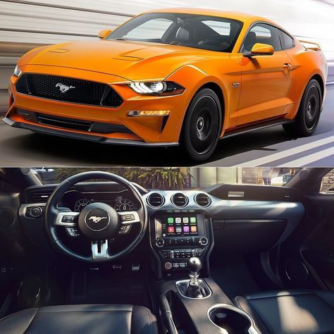 Ford Mustang Gt 2018 Muscle Car Reestilizado E Revelado Marca