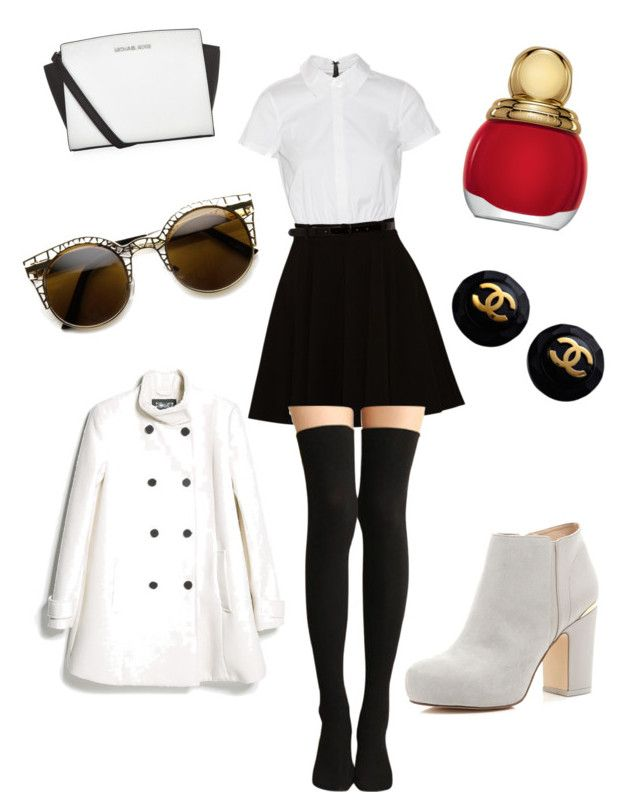 """""""Style #2"""" by mei-mei-1 on Polyvore featuring Alice + Olivia, MICHAEL Michael Kors, ZeroUV, River Island, MANGO and Christian Dior"""
