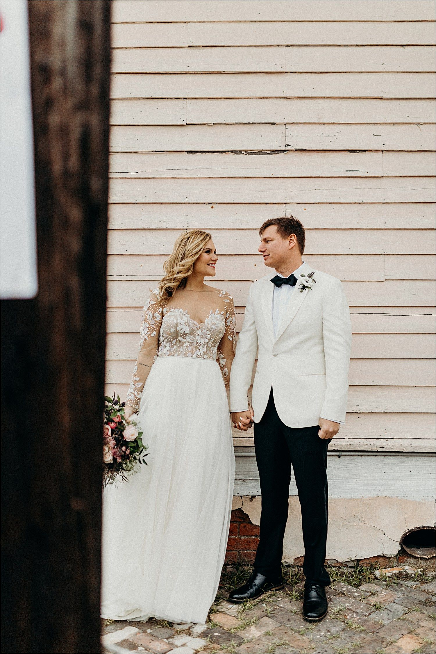 Eccentric New Years Eve Wedding In New Orleans W Sarah Marshall Louisiana Elopement And Wedding Photographer Bride Style Wedding New Orleans Wedding,Wedding Dress Netting Fabric
