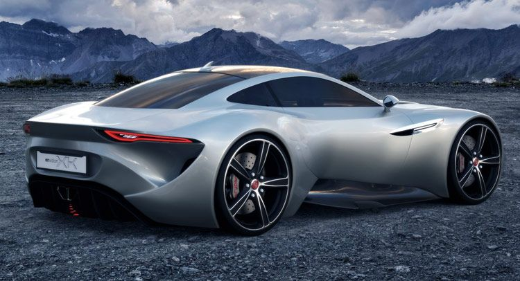 Perfect Does This Design Study Work As A New Jaguar XK Coupe?