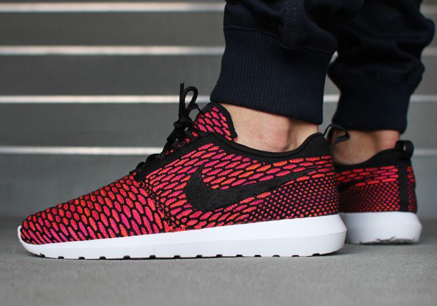 quality design c46c2 60498 Nike Flyknit Roshe Run