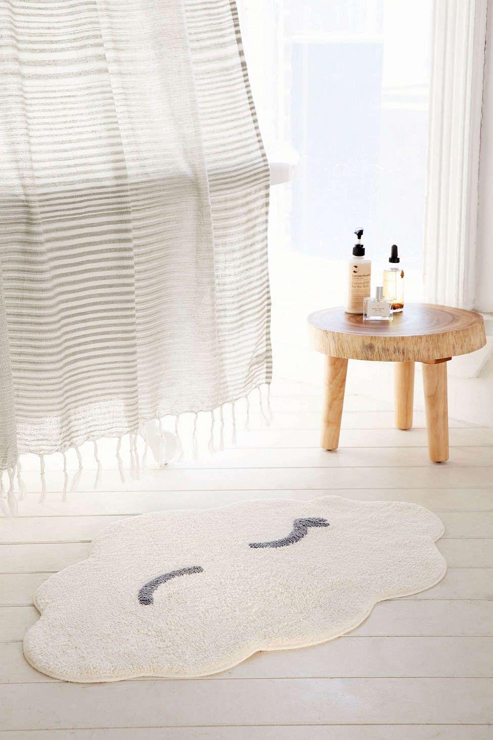 Winking Cloud Bath Mat Decoracao De Lavabo Decoracao Tumblr Decoracao