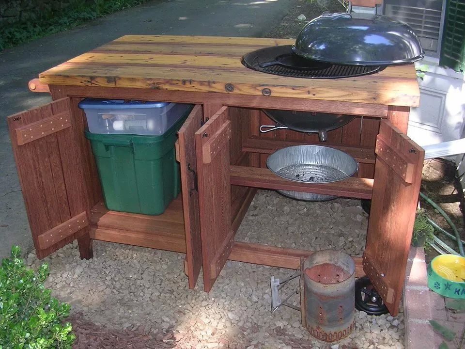 Image Result For Weber Grill Tables With Images Grill Table