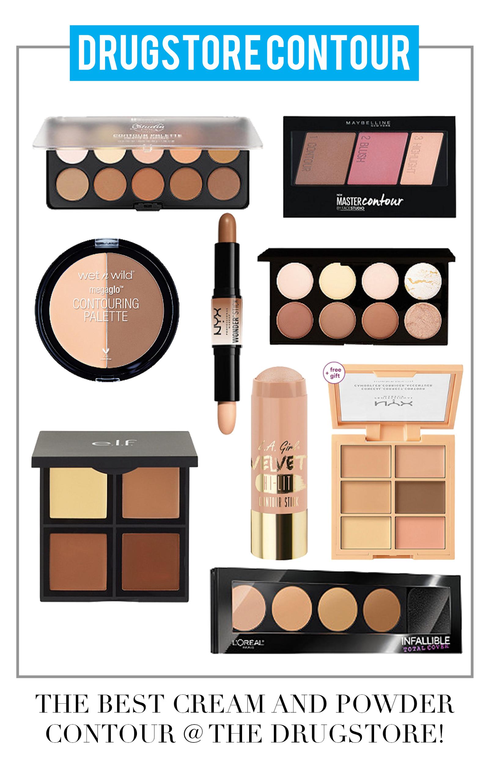 The Best Drugstore Contour Products Contour Makeup Best Contour Makeup Drug Store Contour