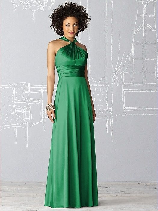 After Six Bridesmaid Dress 6624 In Shamrock
