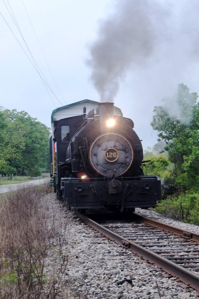 Steam Train Rides In Winnsboro Sc