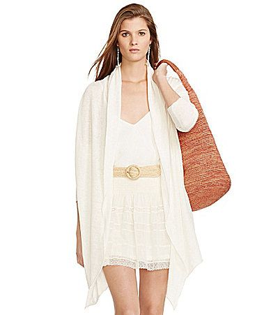 Polo Ralph Lauren Draped OpenFront Cardigan #Dillards