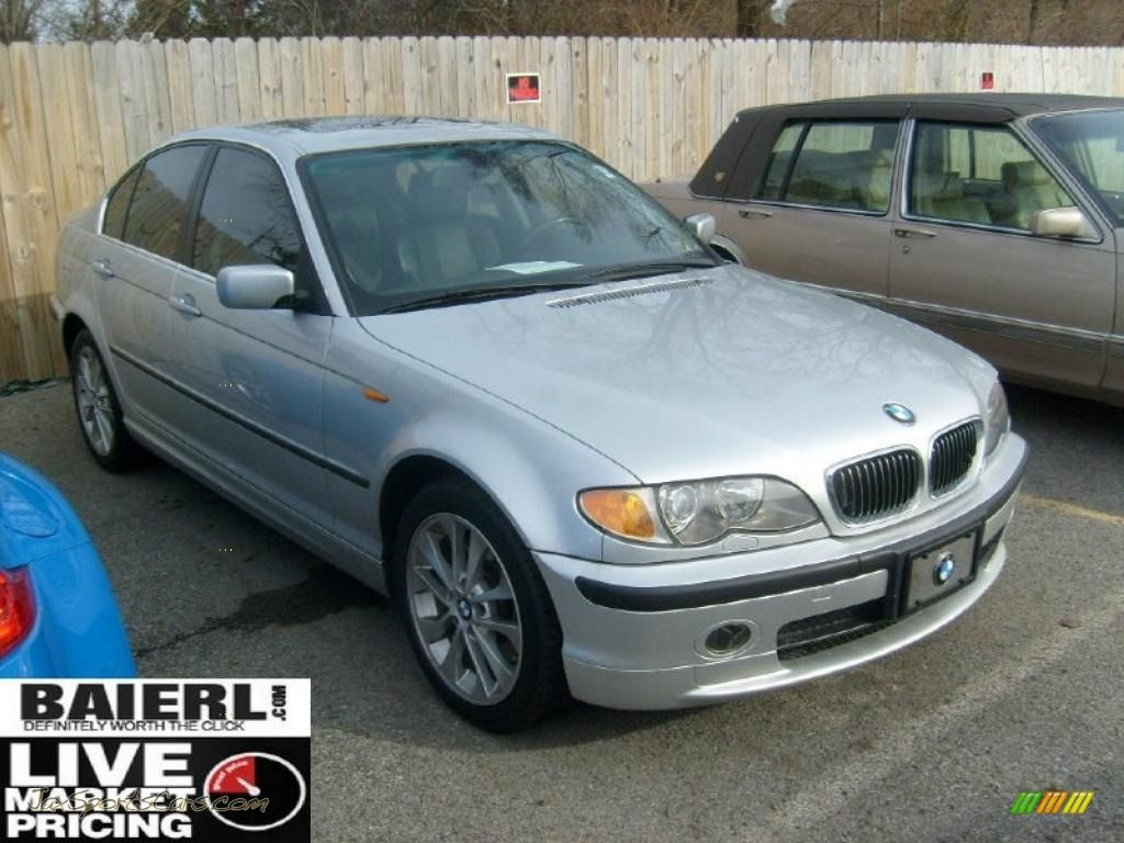 2003 bmw colors 2003 bmw 3 series 330xi sedan in titanium silver metallic g21152