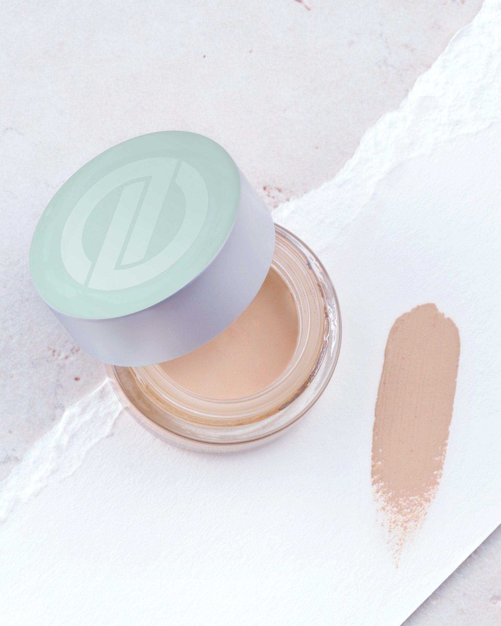 Redness Concealer Cream Without Mica, Titanium Dioxide