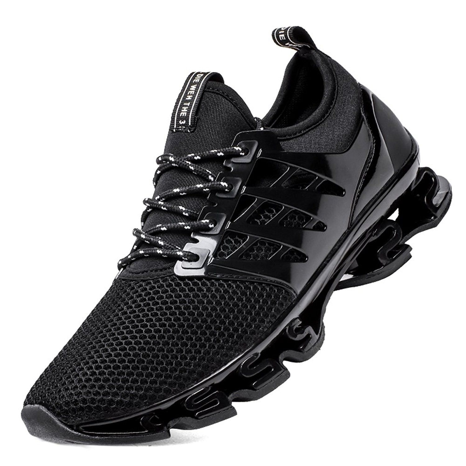 Springblade Sport Running Shoes For Mens Mesh Breathable Trail Runners  Fashion Sneakers - Black - CW1804RR4D7   Running shoes for men, Sport shoes  men, Boys casual shoes