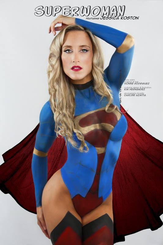 nude female superheroes cosplay