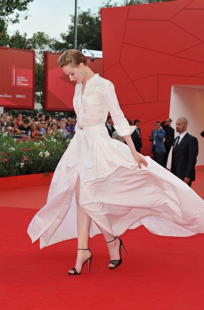 b980b0bf034 Evan Rachel Wood Evening Sandals - Evan Rachel Wood Looks - StyleBistro