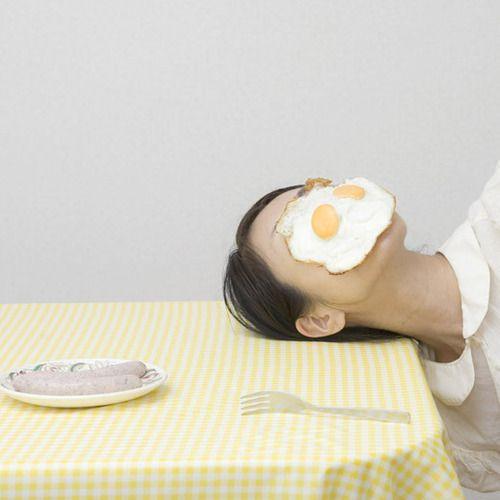 Weißwurst und Ei