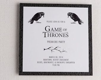 Pin by brienna hall ricciardi on got mac party pinterest macs game of thrones premiere party invitation by annietaylordesign favors the hound cosplay game of thrones official asoiaf cosplay group if cosplay isnt filmwisefo Choice Image
