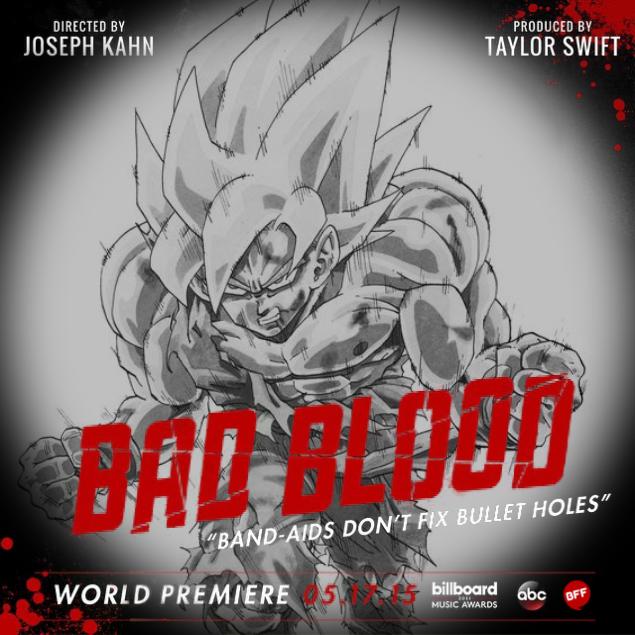 goku super sayajin bad blood