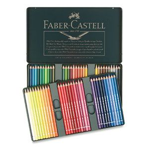 Faber-castell watercolor color set.  When I find a brand I really like, I tend to explore other items that are made by the same company.