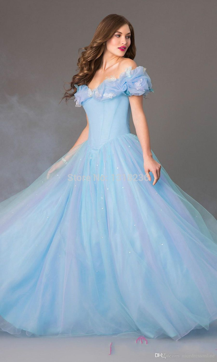 Cinderella ball gown wedding dresses product id 32300957255 sky cinderella ball gown wedding dresses product id 32300957255 sky blue white ivory chapel train ombrellifo Images