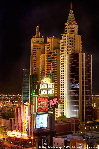뉴욕을 테마로 한 라스베이거스의 호텔 뉴욕뉴욕(New York, New York, Las Vegas)