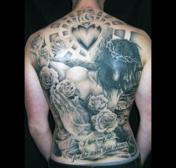 Tatuaże Religijne Jezus Chrystus Tattoos Tatuaż Na