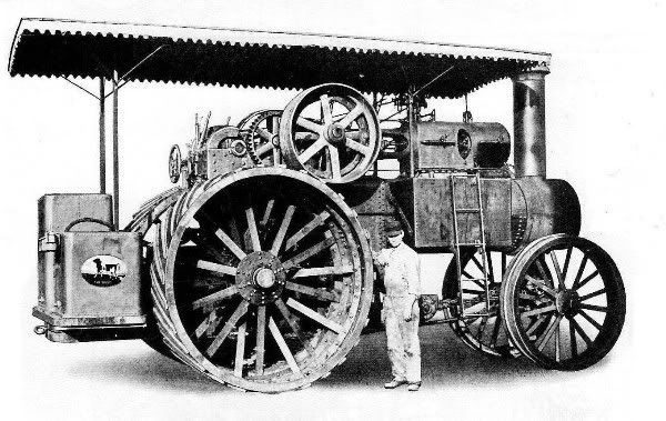 150 HP Russell Road Locomotive | Traction engines