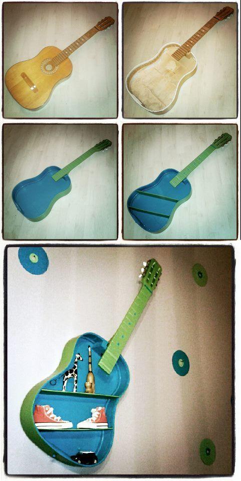 recycling gitarre kreatives pinterest recycling gitarre und kreativ. Black Bedroom Furniture Sets. Home Design Ideas