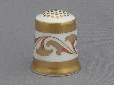 Royal Crown Derby Thimble - Art Deco
