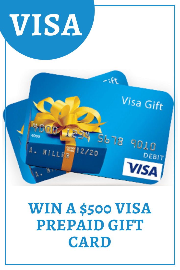 Contest VISA in 2020 Prepaid gift cards, Gift card