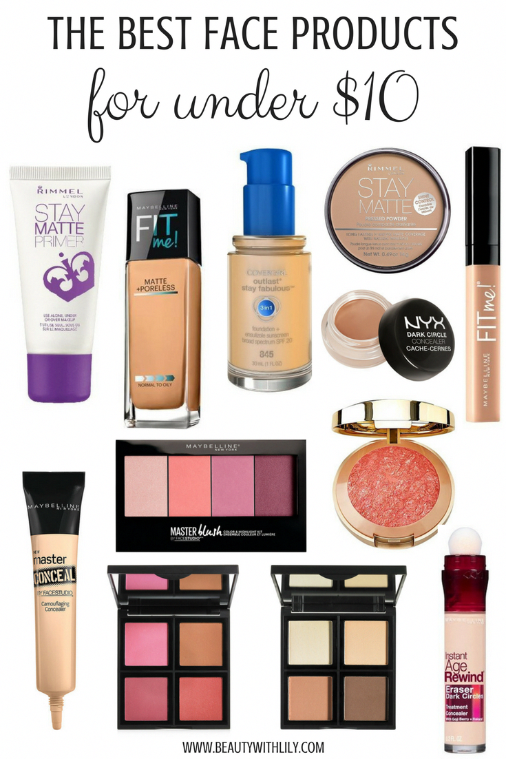 Best Beauty Buys UNDER 10 Best face makeup, Best makeup