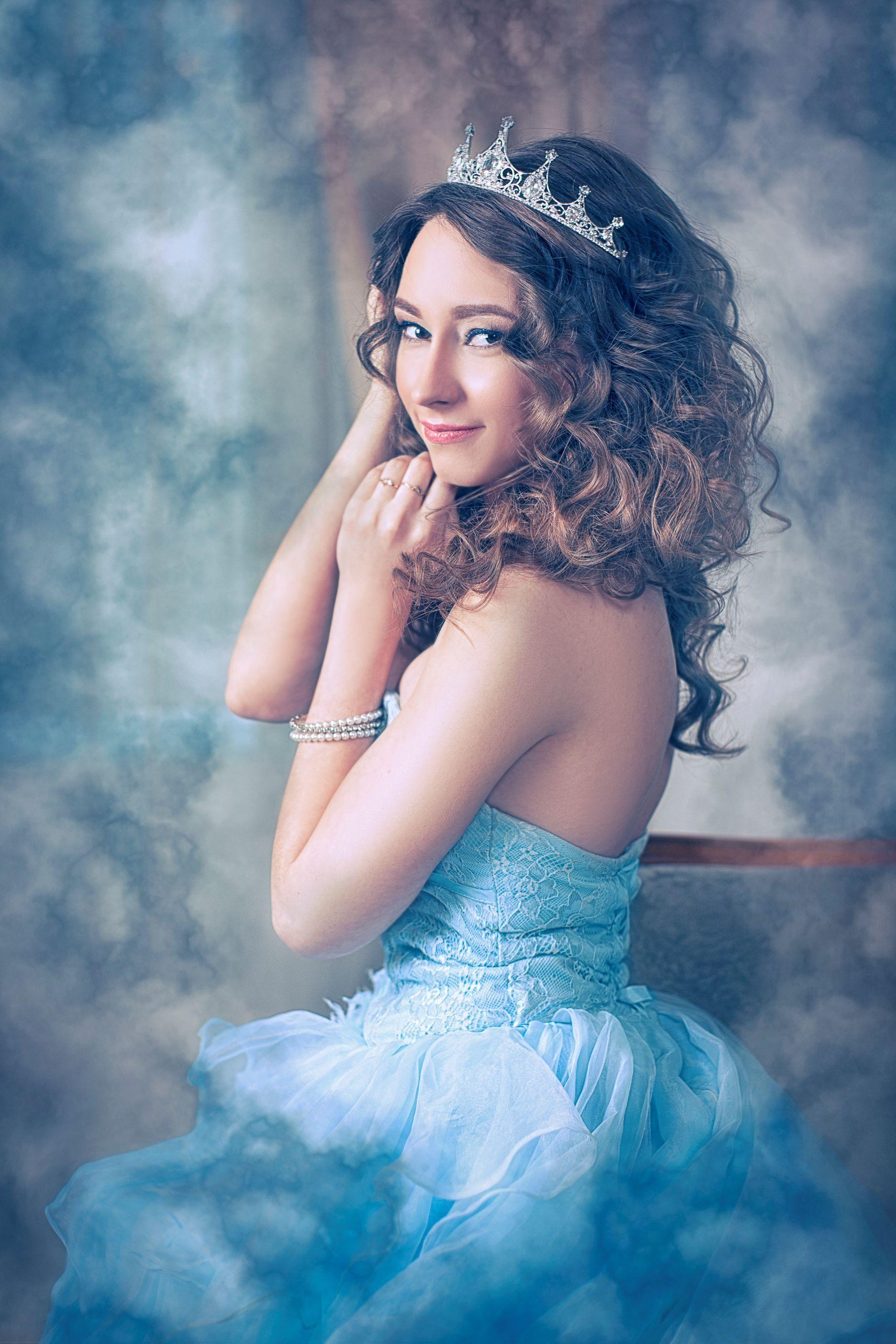 Сказочная фотосессия и идея фотозоны, прекрасная принцесса ...