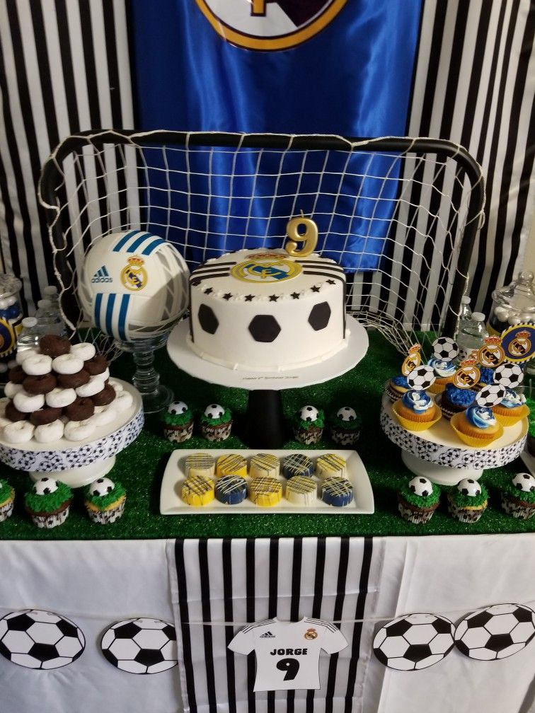 Real Madrid Theme Surprise Birthday Party For My Son Jorge