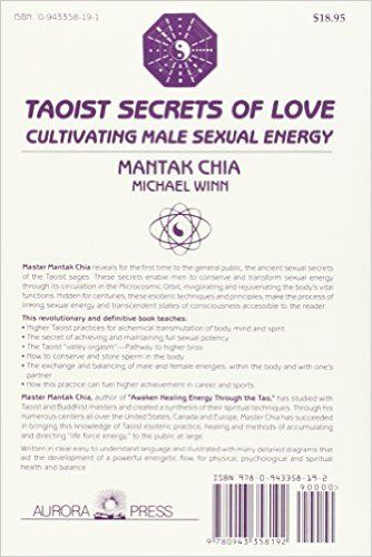 PDF Download Taoist Secrets of Love: Cultivating Male Sexual Energy, by Mantak Chia