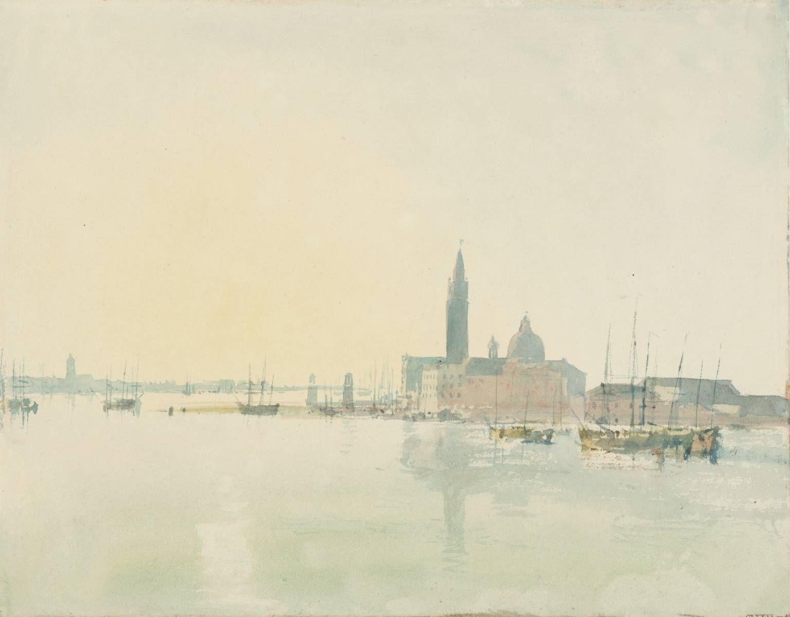 Venice San Giorgio Maggiore Early Morning Joseph Mallord