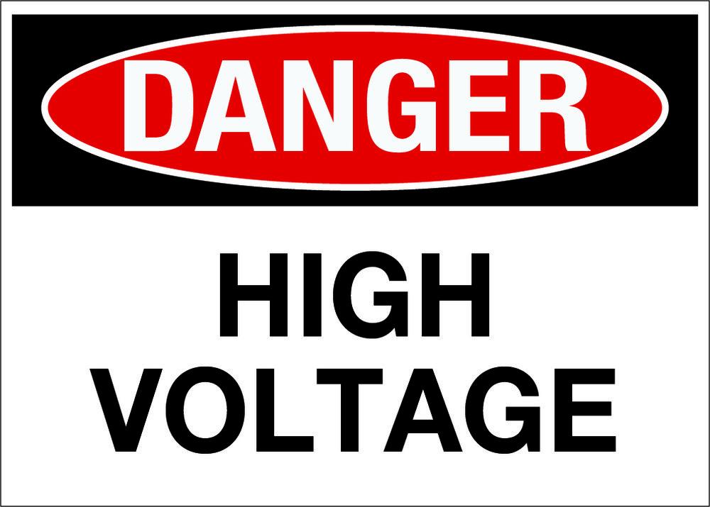 Creative Safety Supply Danger High Voltage Wall 16 99 Http Www Creativesafetysupply Com Danger High Voltage Wall Dangerous High Voltage Signs