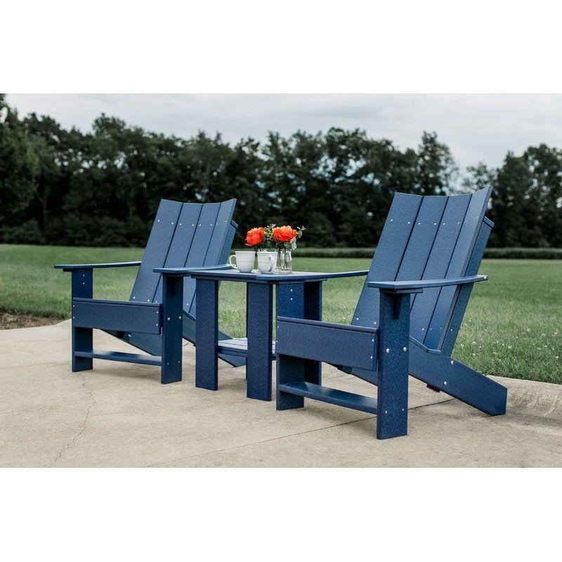 Isidoro Plastic Adirondack Chair Contemporary adirondack