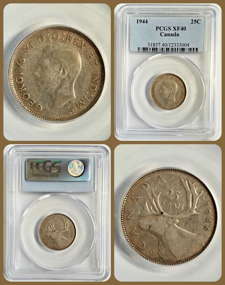 Just Listed Canada Silver Canadian Canadien Pcgs Forsale Ebay Toned Coin Coins Coincollection Collectio Canadian Coins Coin Collecting Coins