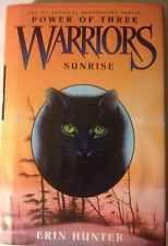 Power Of Three Warriors Sunrise Erin Hunter Hardcover Dustcover Book 6