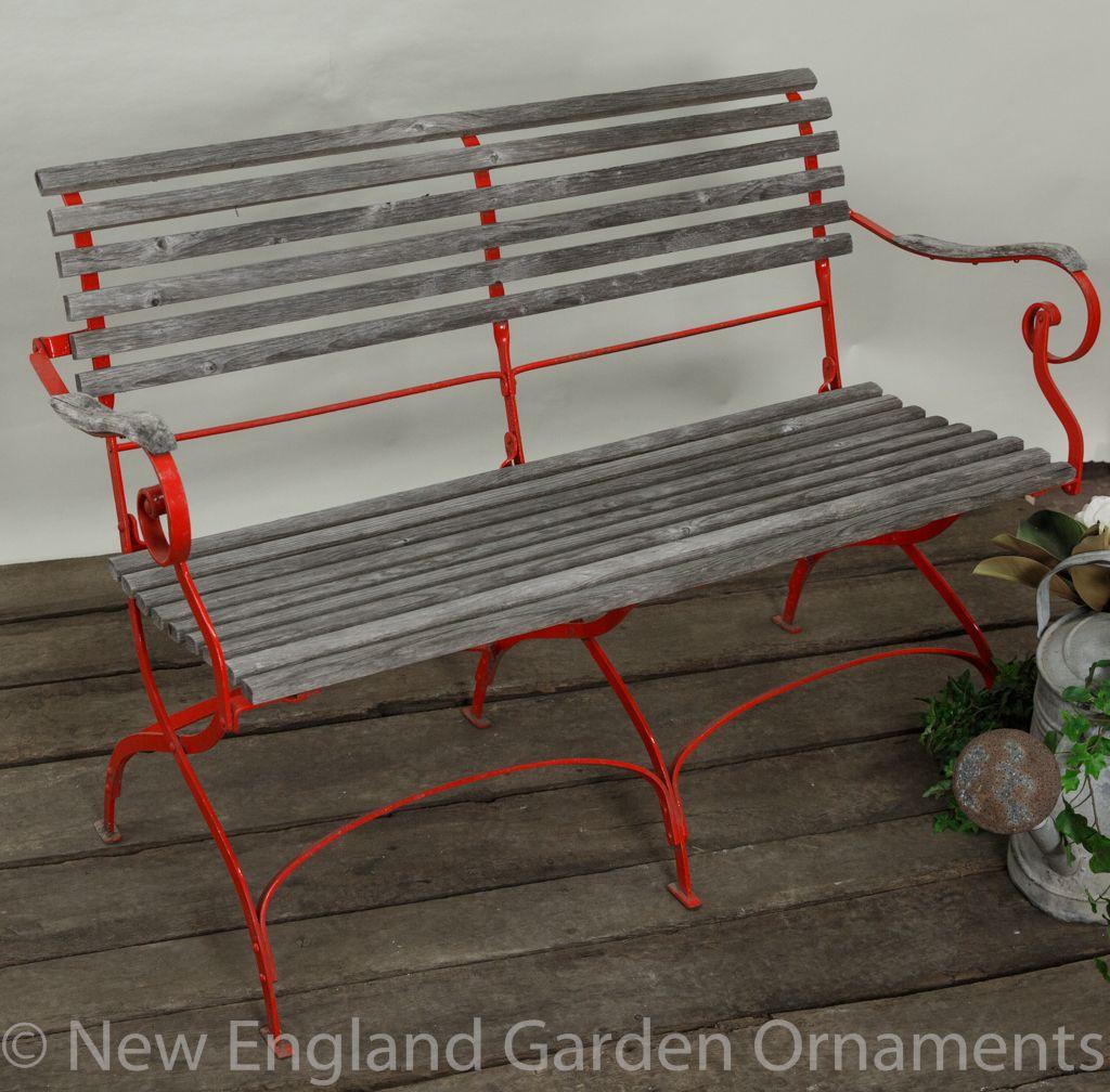 Vintage Garden Bench Wrought Iron Bench Iron Bench Bench
