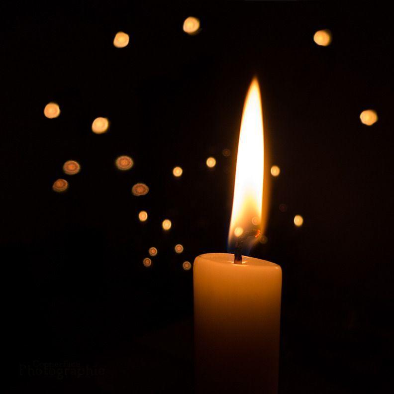 Kerze Trauer Bild