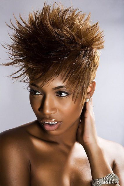 5 Amazing Spiked Haircuts For Black Women Thinkstylz With