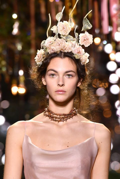 Remember the flower crown? Dior is bringing it back.