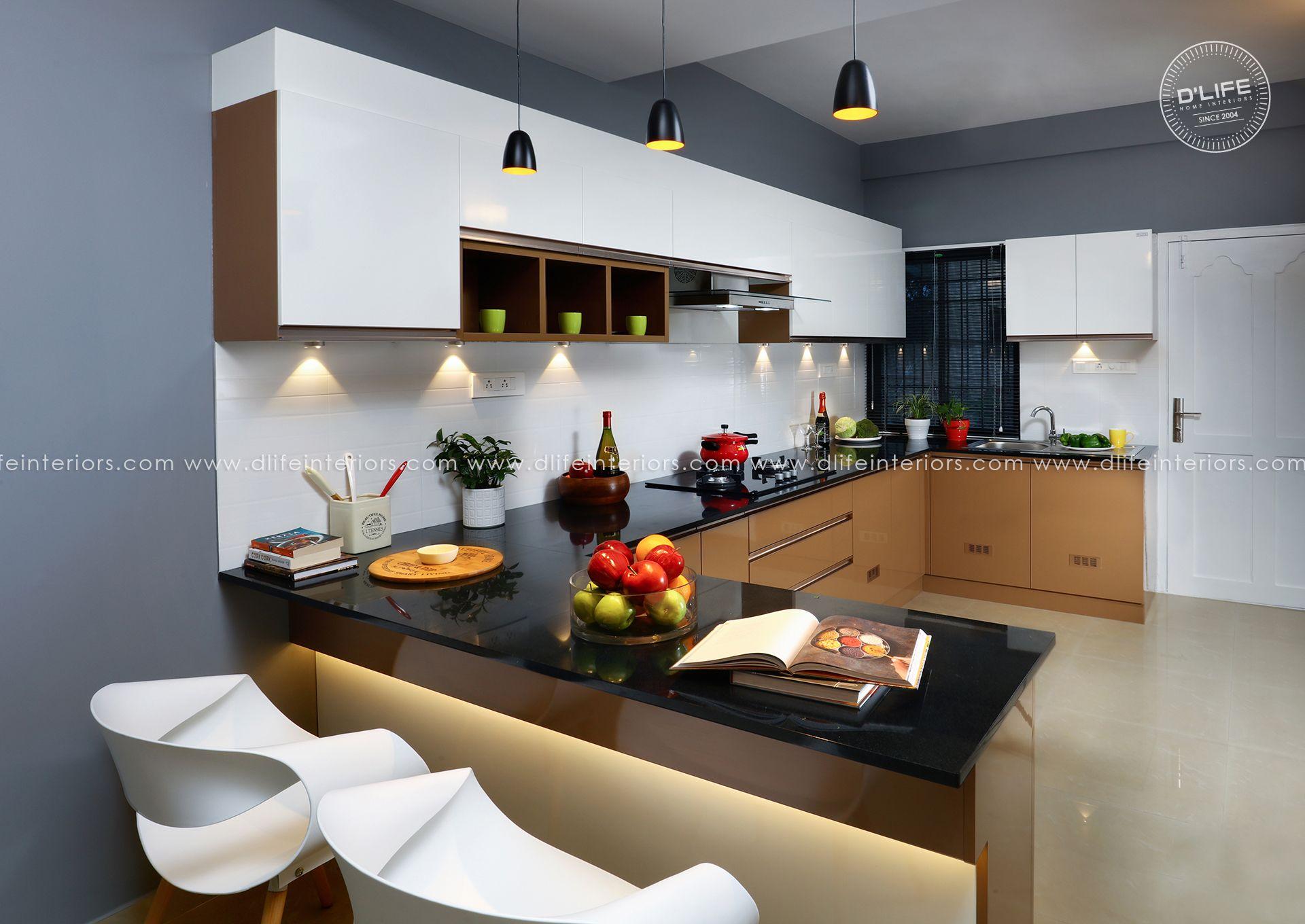 Best Modular Kitchen Design In Kerala Interior Design Kitchen 400 x 300
