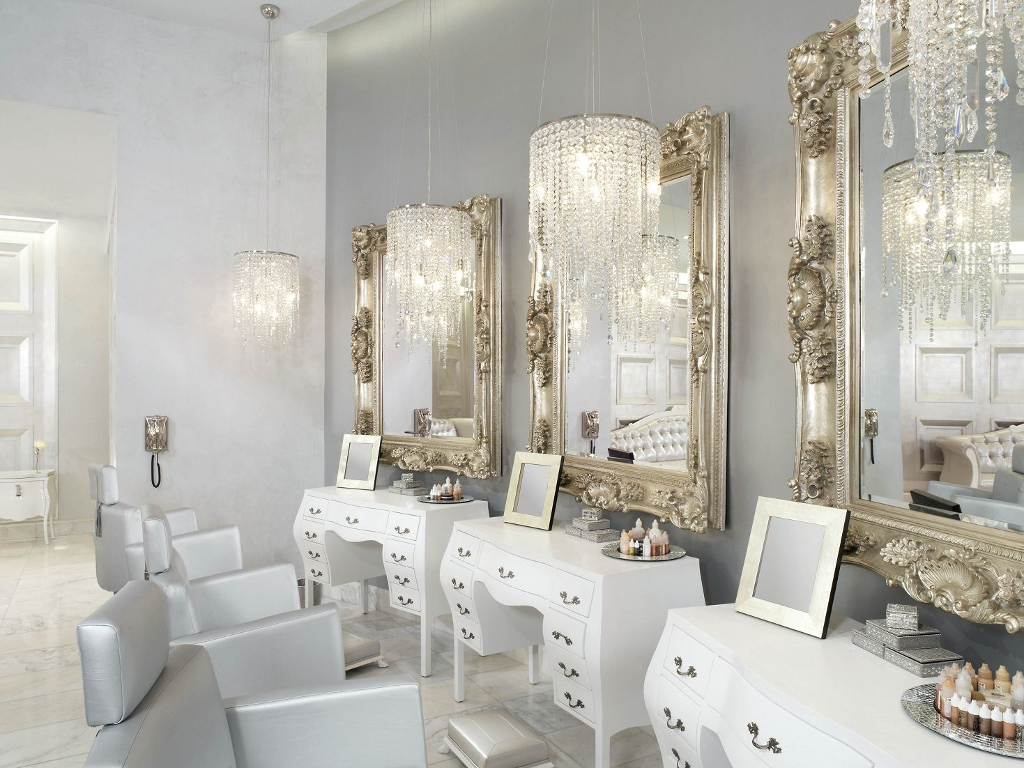 High Quality Color Salon By Michael Boychuck Mixes Classic Hollywood Glamour With Modern  Design. Color Salon By Michael Boychuck Whether Sipping Champagne In The  Lather ...
