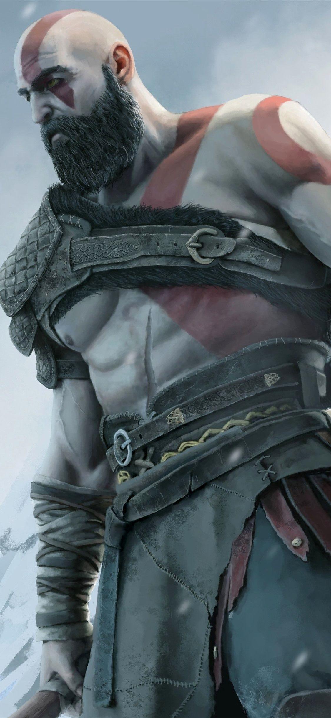 Kratos Wallpaper 4k Iphone Ideas Hd Wallpaper Iphone Game Wallpaper Iphone God Of War