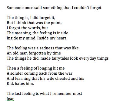 Fear -Jon Jenkins