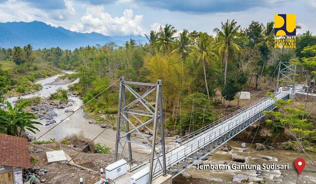 Terbaru 30 Gambar Pemandangan Jembatan Info Bina Marga Kementerian Pupr On Twitter Selain Banyak Download Mewarnai Gam Di 2020 Pemandangan Jembatan Gantung Gambar