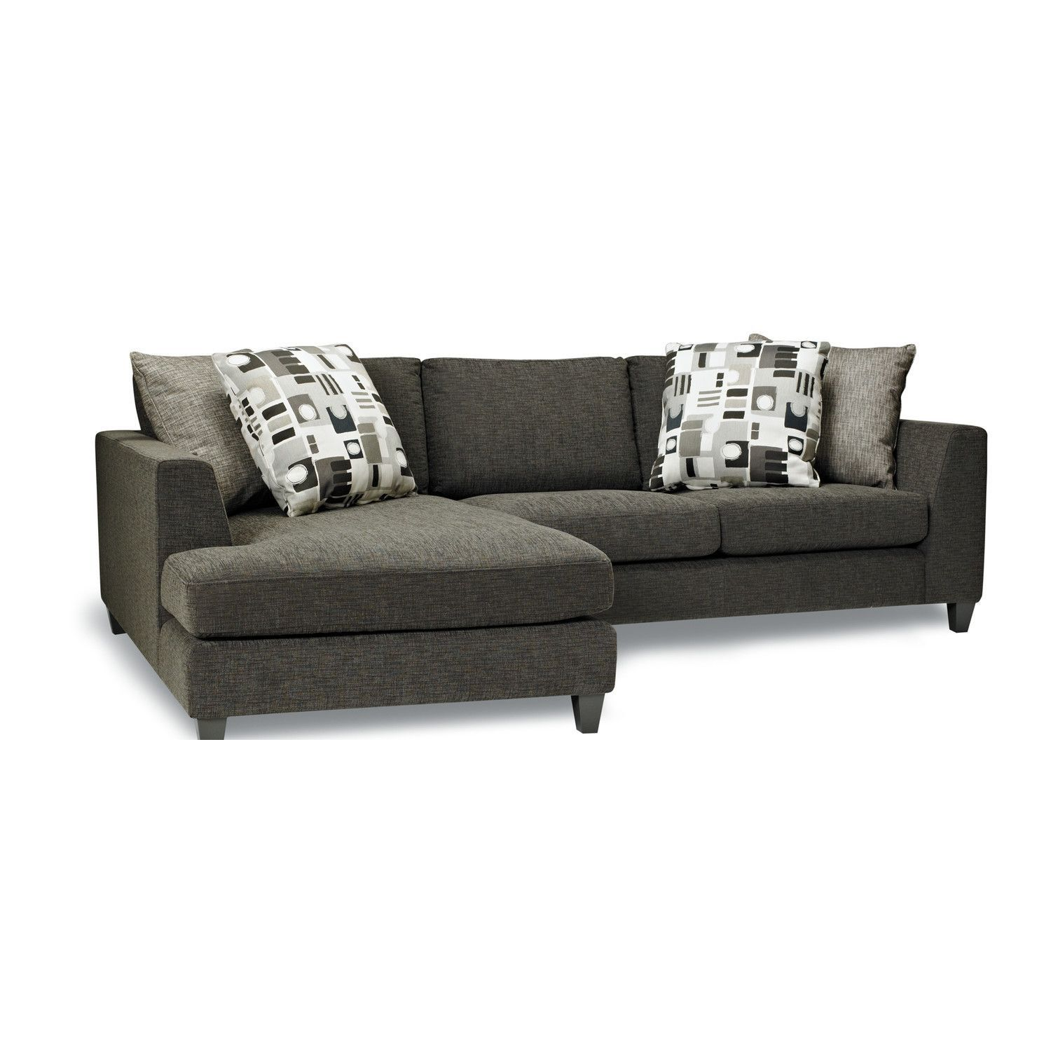 Sofas To Go Jayce Sectional Sofa Muse Shadow Fabric
