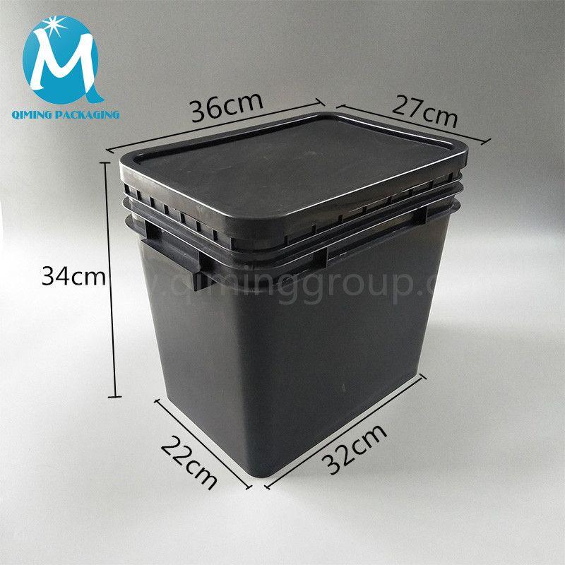 25l Square Plastic Bucket With Lids Plastic Bucket With Lid Bucket With Lid Pail Bucket