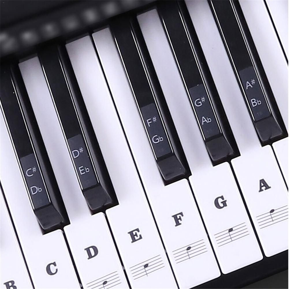Instantly Read Every Note On A Piano These High Quality Pvc Transparent Piano Stickers Allow You To Look At A P With Images Learn Piano Piano Lessons Reading Sheet Music